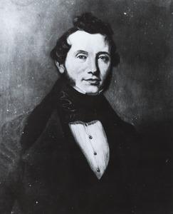 Portret van Karl Ludwig Daniel Meister (1800-1877)