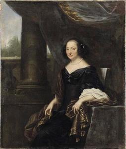 Portret van Beate de la Gardie (1612-1680)