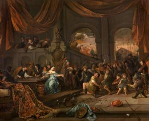 'De Filistijnen over u, Simson!' De foltering en bespotting van Simson (Richteren 16:20)