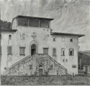 Aartsbischoppelijk paleis te Igno, Italië