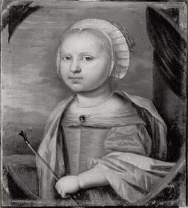 Portret van Sophie Marie, prinses van Hessen-Darmstadt (1661-1712)