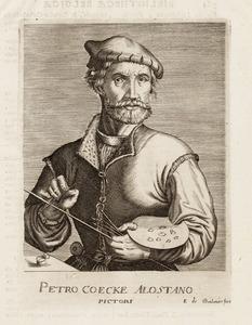 Portret van Pieter Coecke van Aelst (1502-1550)
