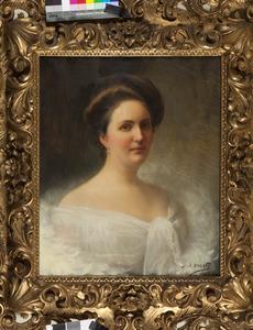 Portret van Irmgard Thecla barones van Hardenbroek (1871-1958)