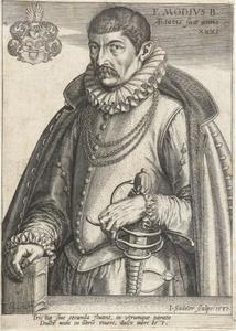 Portret van Franciscus Modius (1546-1597)