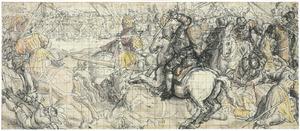Veldslag tussen Otto von Wittelsbach en Hendrik van Saksen-Beieren
