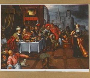 Salome toont Herodes het hoofd van Johannes de Doper
