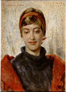 Portret van Elena van der Heijde
