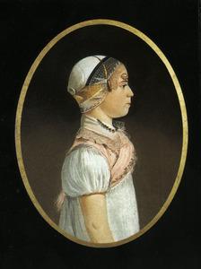 Portret van Maartje Jacobsdr. Breet (1807-1885)