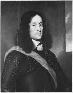 Portret van Johan Gruys (1614-1676), kapitein (1640), majoor (1663), luit. kol. (1673), commandeur van Bellingerwolde; echtgenoot van Anna Christina de Sighers (1633-1678)