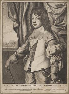Portret van Karel II Stuart (1630-1685) als Prince of Wales