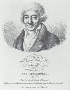 Portret van de schilder Gerard van Spaendonck (1746-1822)