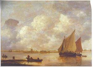 Boten op het Haarlemmermeer