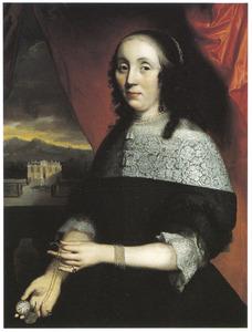 Portret van Maria van der Graeff (1643-1702)