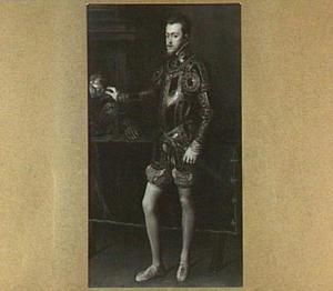 Portret van Filips II als Infant van Spanje