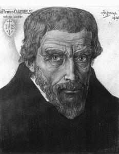 Portret van Petrus Canisius (1521-1597)