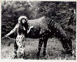 Horse play at Woodstock Festival