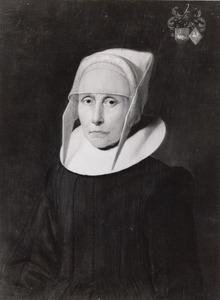 Portret van een vrouw, mogelijk Sjouk Fogelsangh (?-1646)