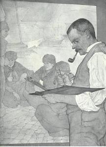 Portret van Charles William Henry Bartlett (1858-1932)