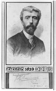 Portret van de schilder Frederick Hendrik Kaemmerer