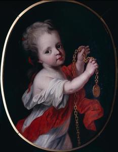 Portret van Henriëtte Casimira van Nassau-Dietz (1696-1738)