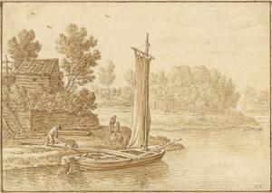 De zuidwestelijke hoek van het bolwerk Lepelenburg in Utrecht