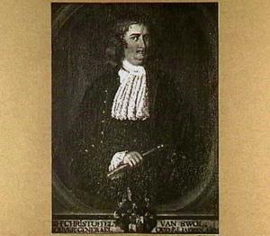 Portret van Christoffel van Swoll (1662-1718)