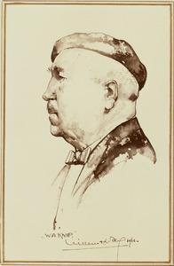 Portret van Wilhelm Alexander Knip (1883-1967)