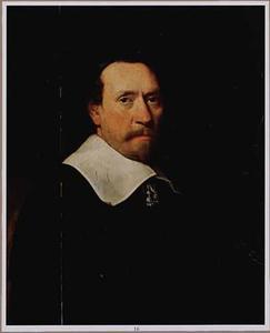Portret van kapitein Johan Pottiers op drieenvijftig-jarige leeftijd