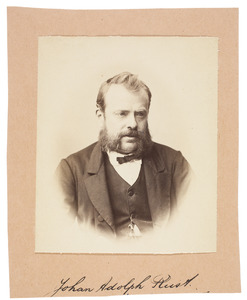 Portret van Johan Adolph Rust (1828-1915)