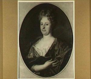 Portret van Agneta de Lebecq (1668-1746)