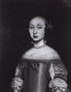 Portret van Elisabeth Ripperda (1637-1669)