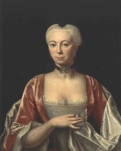 Portret van Johanna de Marees (1736-1766)