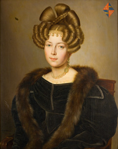 Portret van Maria Cornelia Gravin van Wassenaer (1799-1850)