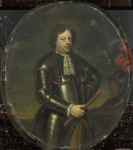 Portret van Hans Willem des H.R.R. Baron van Aylva (....-1691)