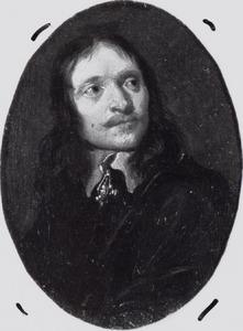 Portretminiatuur van een onbekende man