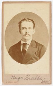 Portret van Hugo Krabbe (1857-1936)