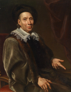 Portret van Johann Michael von Gotter