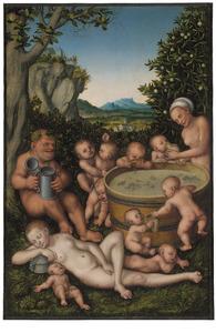 Bacchus bij het wijnvat