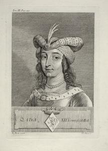 Portret van Ada van Holland (1188-1223)