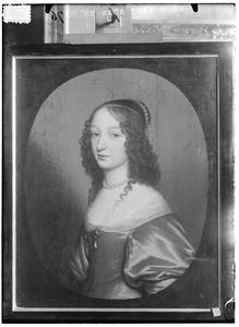 Portret van Wilhelmina Christina van Nassau-Siegen (1629 -1707)