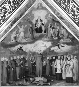 De verheerlijking van de HH. martelaren van Gorcum