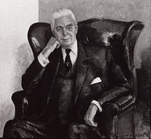 Portret van Willem Jacob Geertsema (1918-1991)