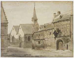 De St. Jacobskerk en het Gasthuis in Maastricht