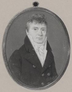 Portret van waarschijnlijk Isaac Ernst de Petersen (1780-1834)