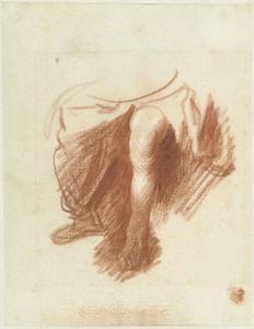 Studie van de benen van een vrouw (recto)