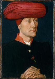 Portret van een man met tulband