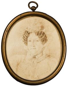 Portret van Lucy Alice Grosset of Muirhead (1767-1856)