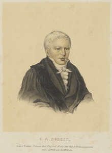 Portret van Elias Annes Borger (1782-1820)