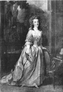 Portret van Louise prinses van Oranje- Nassau (1770-1819)