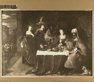 Solome brengt Herodes het hoofd van Johannes de Doper